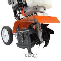 52cc Jardin Mini-motoculteur 3hp Essence Outil De Cultivateur De Sol 2 Temps Moteur