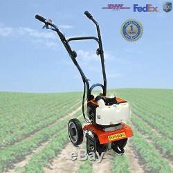 52cc Mini Essence Tiller Loi Jardin Cultivateur 2 Stroke 2.5hp 1.9kw Rototiller