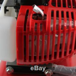 52cc Mini Tiller Cultivateur Jardin Cylindre 2 Gaz Stroke Powered Moteur Machine