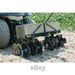 Agri-fab Disc Cultivateur Manches Hitch Tracteurs De Jardin Tondeuse À Gazon En Acier