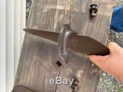 Antique Vintage Jr Planète Simple Double Roue Hoe Cultivateur Plow Paire