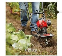 Artisan Mini Tiller Cultivateur 25cc 2-cycle Gaz Moteur 3-en-1 Till Tines