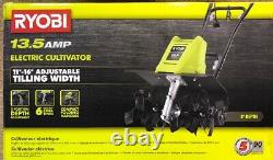 Corded Cultivator Lightweight Easy Folding Handles Durable Home 16 In. 13.5 Amp ;