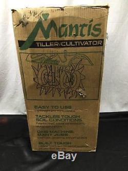 Cultivateur À Barre Mantis 7924