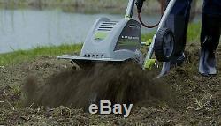 Cultivateur À Cordon Électrique Avec Motoculteur Turner 11-inch 8-amp Nouveau