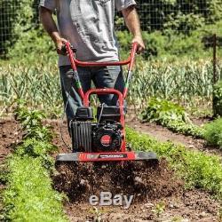 Cultivateur À Gaz Séismique Versa Compact Rototiller Cultivateur Aérateur Mulching 99cc