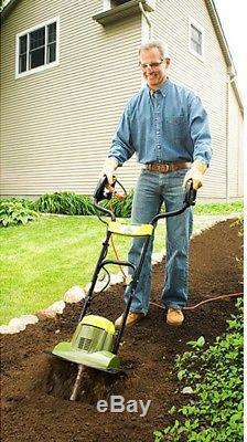 Cultivateur À La Maison Électrique De Motoculteur De Rototiller De Petit Jardin 14x7 Pouces Aérateur De Cultivateur À La Maison