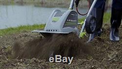 Cultivateur À Motoculteur Électrique 8,5 A Jardin Jardin Pelouse Sun Joe Earthwise 11 Pouces