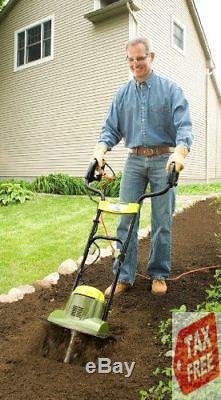Cultivateur À Motoculteur Électrique Joe Joe Tj600e Tiller Joe Garden 14-pouces 6.5 Ampères