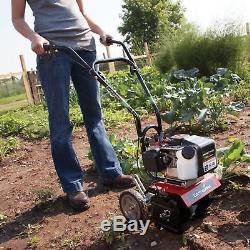 Cultivateur De Gaz À Moteur À 2 Cycles Aérateur De Sol Barre Pelle Pelle Arrière Jardin