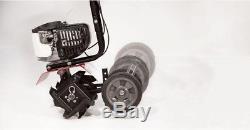 Cultivateur De Gaz De Rotoculteur De Motoculteur 43cc 2-cycle Aérateur De Sol Réglable