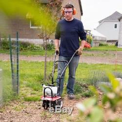 Cultivateur De Jardin 10 Roues D'entraînement À Engrenage Direct À 2 Temps De Gaz 43cc Carb
