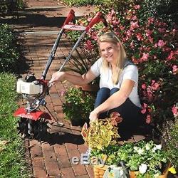 Cultivateur De Motoculteur À 4 Cycles Garden Lames Compactes Puissantes 10 Poignée Pliante Profonde