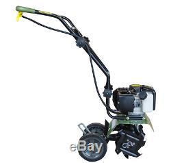 Cultivateur De Motoculteur Mini 2-cycle 43cc À Gaz 2 Temps Léger Lawn Garden