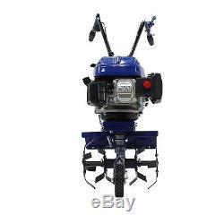 Cultivateur De Motoculture Rotovator Cultivateur Essence Hyundai 3.4hp 139cc 4 Temps 3