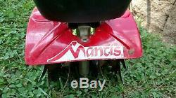 Cultivateur Électrique Avec Motoculteur Enfichable Filigré Cultivator Mantis 110v 7250-02-03