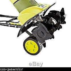 Cultivateur Électrique Cultivateur De Jardin Rototiller Power Ergonomic Sun Joe Tj601e Nouveau