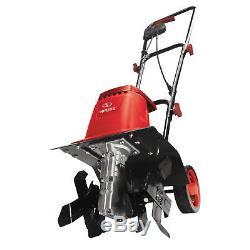 Cultivateur Motoculteur De Jardinière Électrique Sun Joe Tj602e-red, Rouge 12 Pouces 8 Ampères