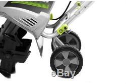 Cultivateur Motoculteur Earthwise, 11 Po. L, 8,5 Ampères, 4 Dents Convertibles, Électrique