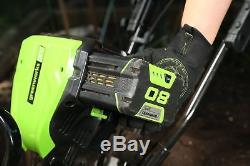 Cultivateur Motoculteur Sans Fil Greenworks Tl80l00, 10 Pouces, 80v