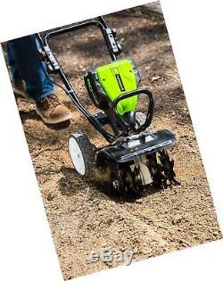 Cultivateur Motoculteur Sans Fil Greenworks Tl80l00, 10 Pouces, 80v Livraison En 2 Jours