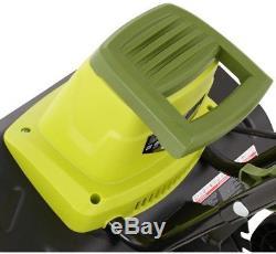 Cultivateur Motoculteur Sun Joe Electric 16 - Roues Arrière - Dents En Acier Avec Cordon De 13,5 Ampères