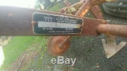 Cultivateur Pour Tracteur Sears Suburban Lawn & Garden 3 Points D'attelage 3 Points