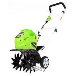Cultivateur Sans Fil 40 Pouces Greenworks De 10 Pouces, Batterie Non Incluse 27062a