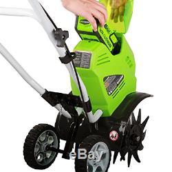 Cultivateur Sans Fil Greenworks 10 Pouces, 40 V, Batterie Non Incluse 27062a