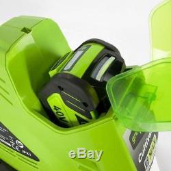 Cultivateur Sans Fil Greenworks 10-inch 40v, Batterie Non Incluse 27062a