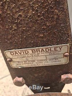 David Bradley Cultivateur, Charrue, Jardin, À Une Rangée, Sears Roebuck