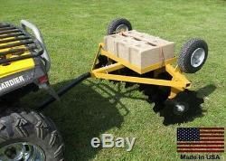 Disc Cultivator Harrow Tow Derrière Atv Utv Et Tracteur De Jardin Largeur De Coupe De 5 Pieds
