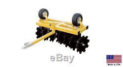 Disque Herses 4 Ft Largeur De Coupe Beton Vtt Et Utv Tracteur Compact