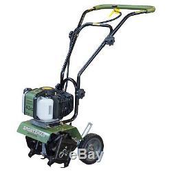 Earth Series 43cc 2 Cycle Mini Cultivateur Vert Sportif