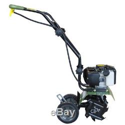 Earth Series Mini Cultivateur 10 Po. 43cc 2-cycle Gas Powered Flower Garden Tool