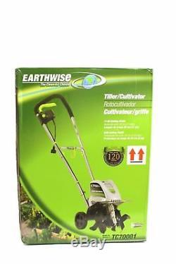 Earthwise Tc70001 11-inch 8.5-amp Cordon Électrique Motoculteur / Jardin Pelouse
