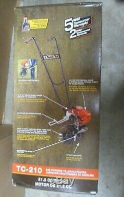 Echo Cultivateur Professionnel Motoculteur À Essence 21.2 Cm3 Tc-210 Br
