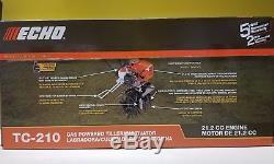 Echo Tc-210 Motoculteur / Cultivateur À Essence 21.2 CC Engine. Nouveau Dans La Boîte