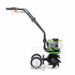 Essence Motoculteur Cultivateur Rotavator Jardin Pelouse Machine 5.2 HP