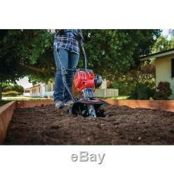 Gaz Cultivateur Jardin Mini Tiller Turning Sol Léger Plantation Compact Outil