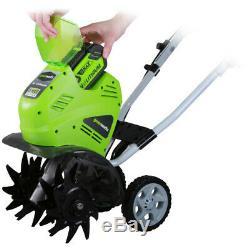 Greenworks 10 Pouces 40v Sans Fil Cultivateur, Batterie Non Incluse 27062a