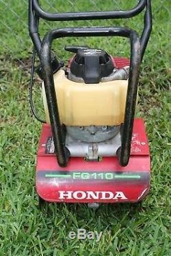 Honda Fg110 Cultivator 4 Temps Mini-motoculteur À Essence