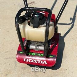 Honda Fg110at 9 25cc Mini Tiller Cultivateur Avant Tine 4-cycle Rnv Rotating
