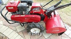 Honda Frc800 20 Arrière Tine Tiller Jardin Cultivateur Pelouse Rototiller Gx240 Utilisé