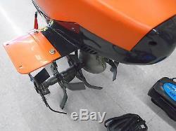 Husqvarna Tb 1000 Cultivateur À Dents Avant Motoculteur Motoculteur Rototiller Tb1000