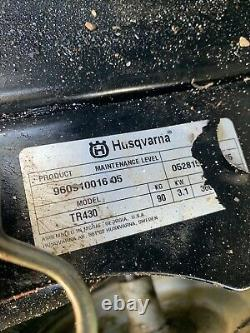 Husqvarna Tr430 Rotavator Petrol Garden Cultivator Tiller Rotovator - Livraison