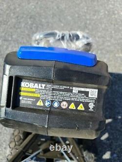 Kobalt Cultivator Avant Rotation Bouton Poussoir Démarrer Tiller 80v (outil Uniquement)