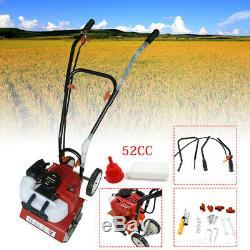 Machine CDI De Jardinage De Cultivateur De Cultivateur De Cultivateur De Motoculteur De 52cc 2hp Avec 4 Lames