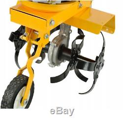 Machine De Pelouse De Jardin De Rotavator De Cultivateur De Motoculteur De Hq 6,5 HP 4 Temps