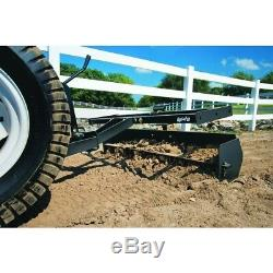 Manches Hitch Scraper Boîte Grattage Leveling Gravier Sol Beton Tracteur Acier